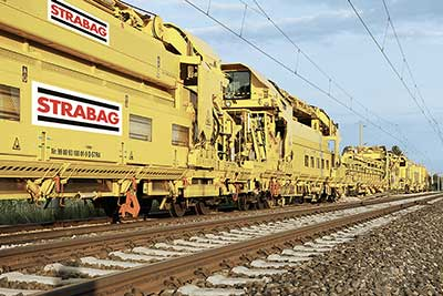 P 95 SR – High-capacity track renewal train